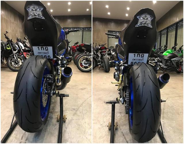 Kawasaki Z900 ban do don gian pha cach voi dan do choi CNC - 8