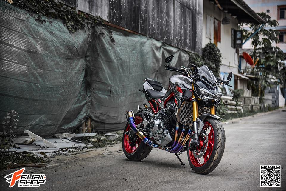 Kawasaki Z900 ban nang cap don gian day thuyet phuc