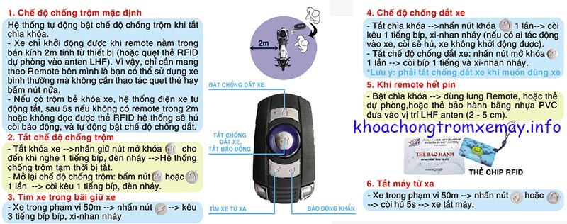 KHOA CHONG TROM XE FAST LOCK PLUS - 14