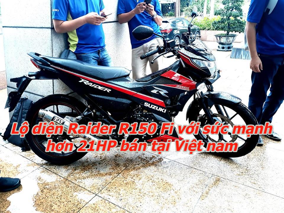 Lo dien Raider Fi 2019 voi cong suat hon 21HP duoc ban chinh hang tai Viet nam