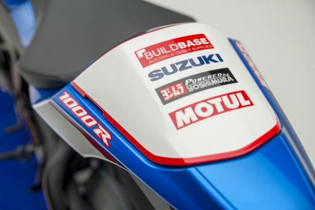 Suzuki GSXR1000R Phien ban BSB Raplica gioi han tri gia gan 600 trieu VND - 7