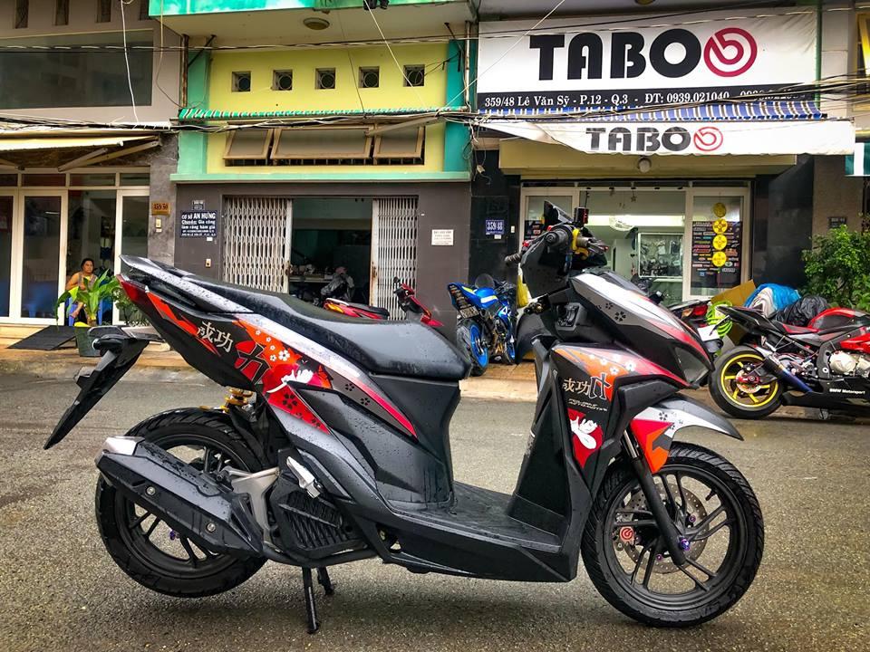 Vario 150 2018 do option khung nam cho lay bien so - 11