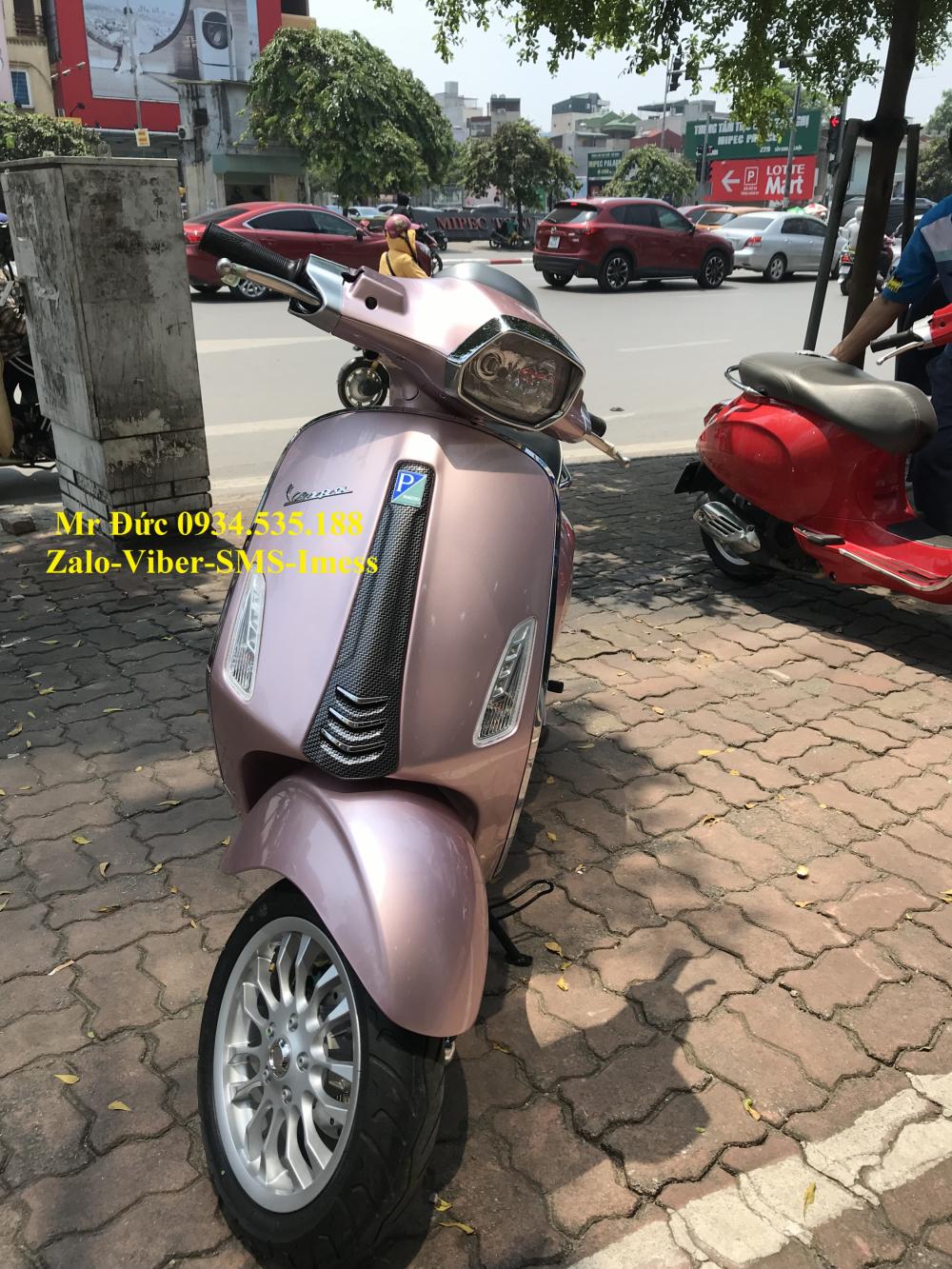 Vespa Sprint Carbon Hong 2018 - 4