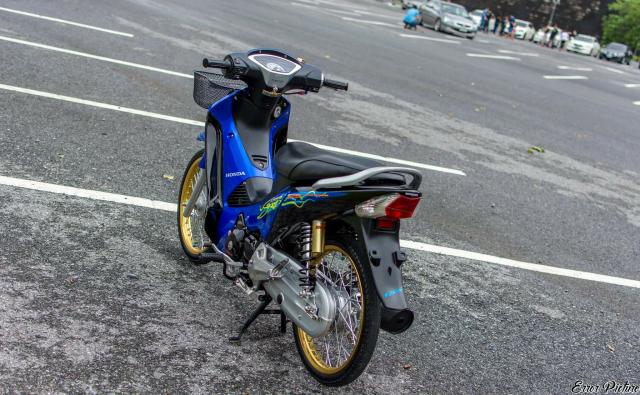 Wave 125 do he thong giu thang bang doc nhat tren dat Thai - 8
