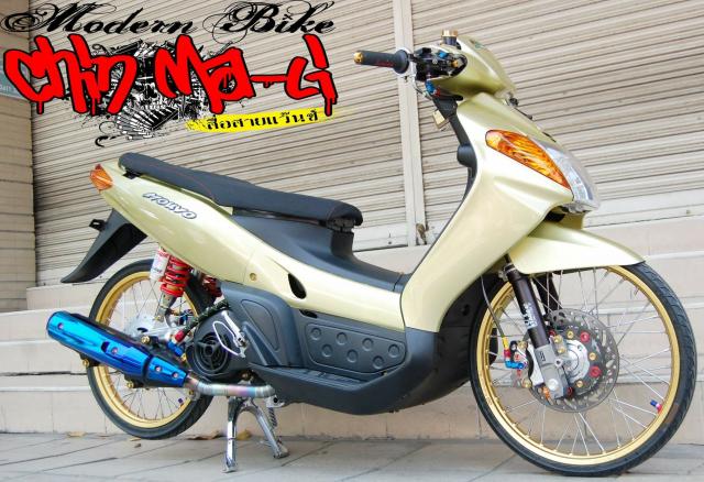 Yamaha Nouvo do chien binh doi dau so huu doi chan sieu khiep - 3