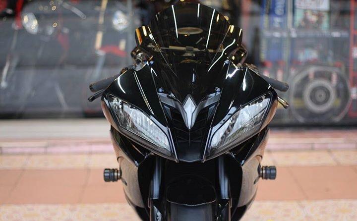 Yamaha R6 Hung than xa lo day cuon hut voi tone mau Blacksiver - 3