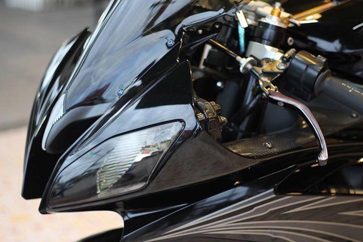 Yamaha R6 Hung than xa lo day cuon hut voi tone mau Blacksiver - 5