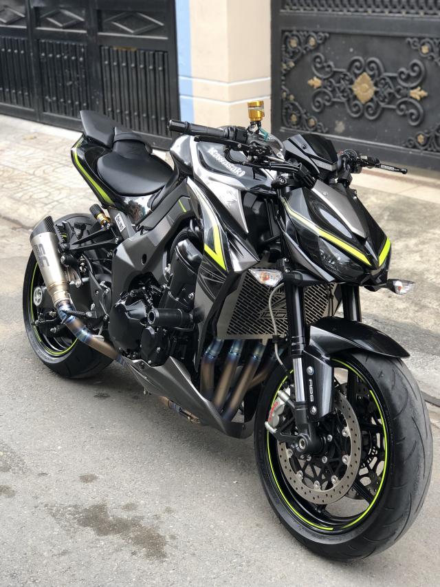 __ Ban kawasaki Z1000 R ban dat biet ABS odo 2000km HQCN DKLD T72017 xe keng nhu xe thung