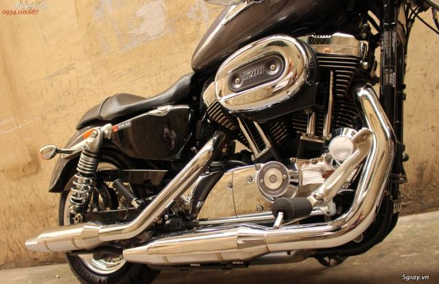 ___ Can Ban ___HARLEY DAVIDSON Sportster 1200cc Custom ABS 2016___ - 6