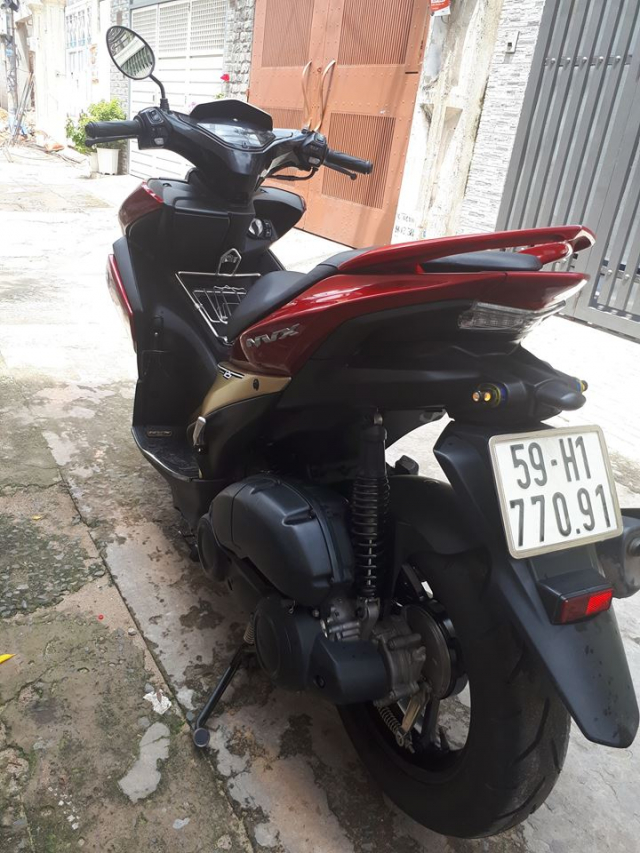 Can ban Yamaha Nvx125 khoa Smartkey chay duoc 3000km bstp mau do den - 2