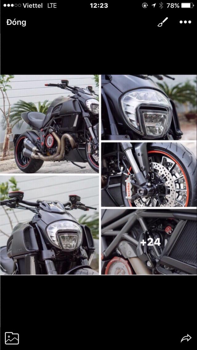 Can ban Ducati Diavel 2015