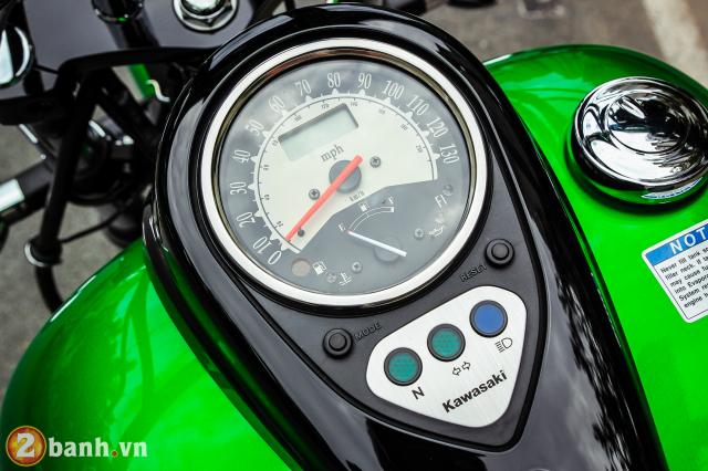 Chi tiet Kawasaki Vulcan 900 Custom 2018 dau tien tai Viet Nam - 7