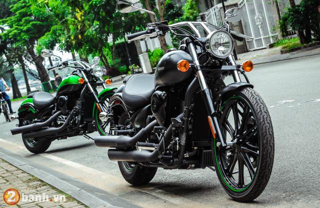 Chi tiet Kawasaki Vulcan 900 Custom 2018 dau tien tai Viet Nam - 12