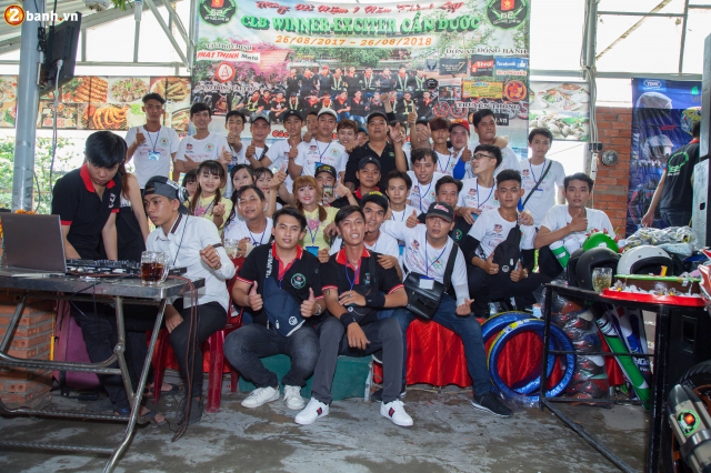 Club Winner Exciter Can Duoc voi chang duong I nam hinh thanh