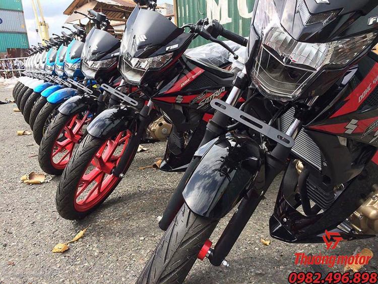 Con Loc Suzuki Satria F150 Indonesia Gia bao nhieu - 4