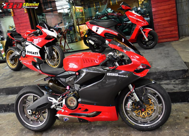 Ducati 899 Panigale ban tuy chinh kha loi cuon den tu Bd Speed Racing