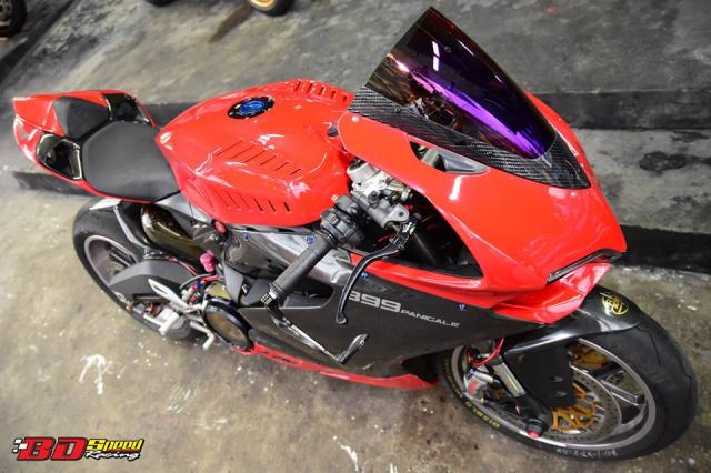 Ducati 899 Panigale ban tuy chinh kha loi cuon den tu Bd Speed Racing - 4