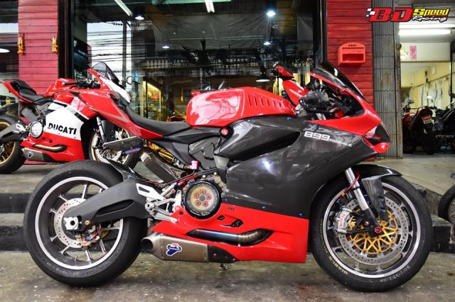 Ducati 899 Panigale ban tuy chinh kha loi cuon den tu Bd Speed Racing - 12