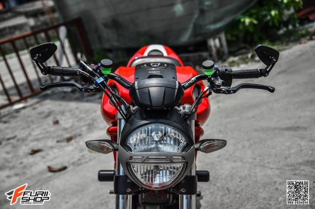 Ducati Monster 796 ban nang cap hoan hao den tu Furii Shop