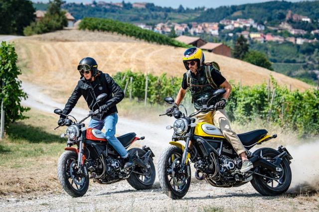 Ducati Scrambler 2019 voi nhieu cong nghe moi