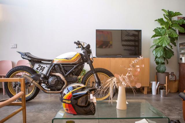 Ducati Scrambler ban bien doi Super Hooligan danh cho duong dua