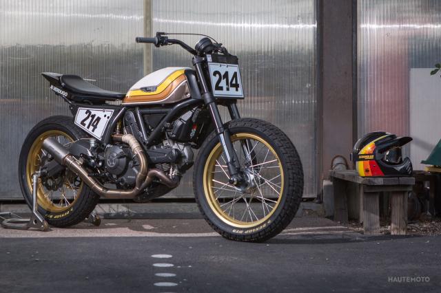 Ducati Scrambler ban bien doi Super Hooligan danh cho duong dua - 3