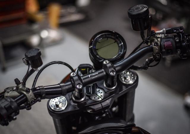Ducati Scrambler Cafe Racer ve dep kho cuong khi qua tay Mugello - 3