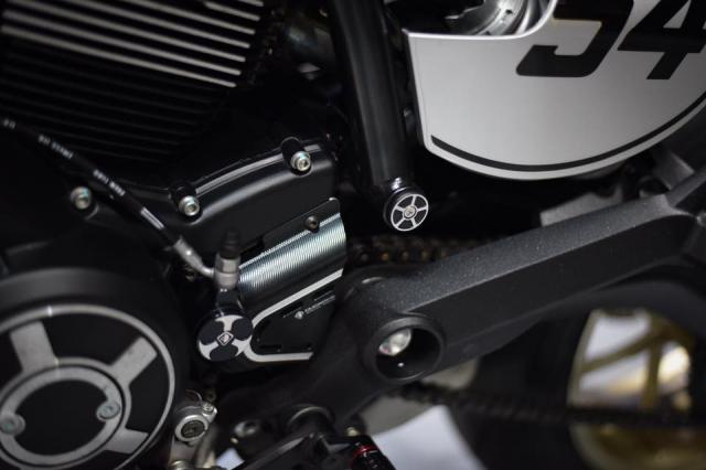 Ducati Scrambler Cafe Racer ve dep kho cuong khi qua tay Mugello - 7