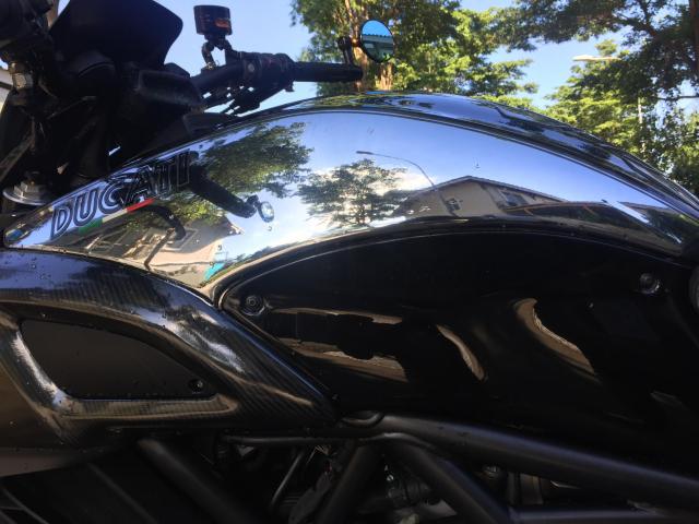 em gai den tu Y Ducati Diavel Cromo 1300cc Date 2013 abs