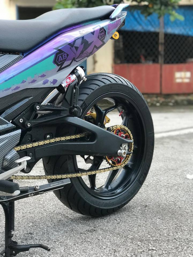 Exciter 150 do so huu co bap Yamaha TFX chuan den khong ngo - 14
