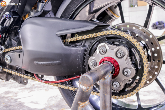 Exciter 150 do sieu pham tuyet dinh voi dan chan Ducati 1198 SP - 7