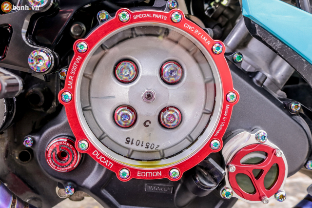 Exciter 150 do sieu pham tuyet dinh voi dan chan Ducati 1198 SP - 13