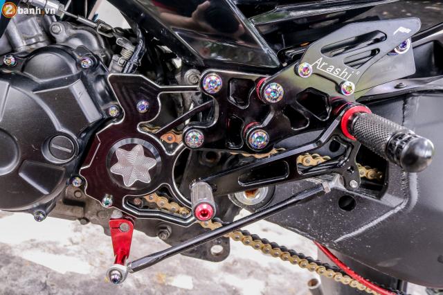Exciter 150 do sieu pham tuyet dinh voi dan chan Ducati 1198 SP - 14
