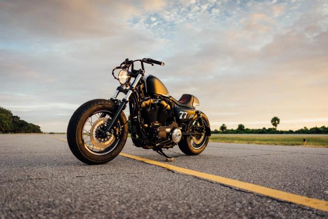 Harley Davidson Sporter ban tuy chinh dac biet mang ten The 77 Special - 10
