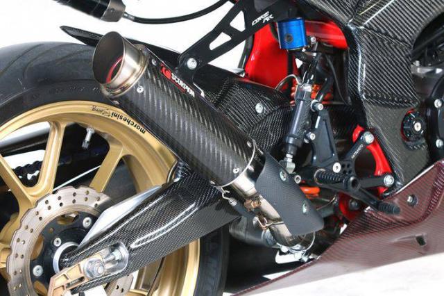 Honda CBR250RR do cuc khung voi than hinh Carbon - 6