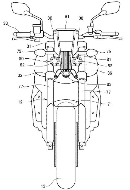Honda dang ky bang sang che Dong Ho Dieu Chinh goc nghieng cho Honda CB1000R moi - 4