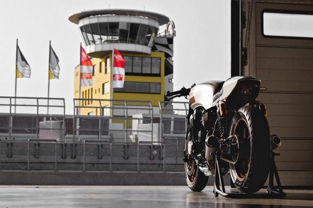 Honda Nighthawk 750 ban tuy chinh den tu Kaspeed Moto