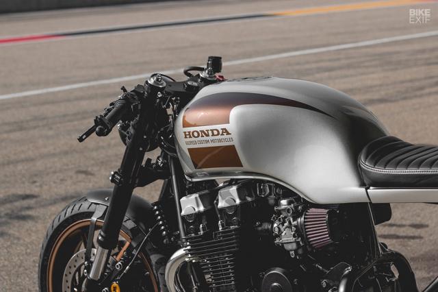Honda Nighthawk 750 ban tuy chinh den tu Kaspeed Moto - 4
