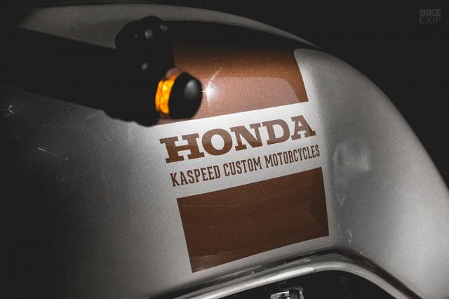 Honda Nighthawk 750 ban tuy chinh den tu Kaspeed Moto - 6