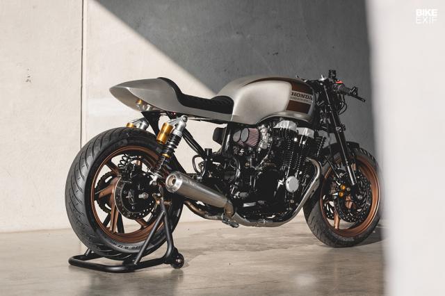 Honda Nighthawk 750 ban tuy chinh den tu Kaspeed Moto - 10