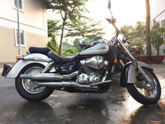 Honda Shadow 750cc Date 2008 HQCN gia sap san - 2