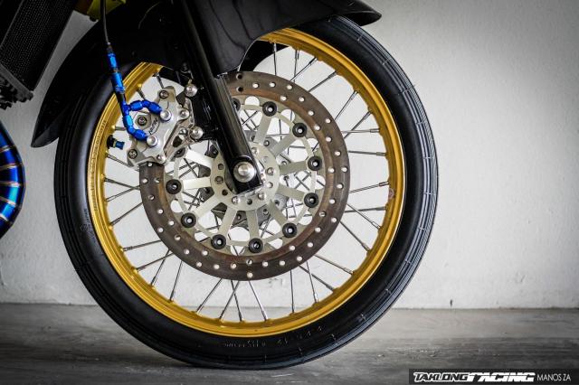 Kawasaki Serpico 150 do dan chan khien nguoi xem tan chay con tim - 5
