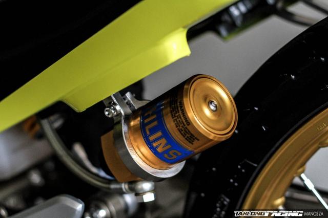 Kawasaki Serpico 150 do dan chan khien nguoi xem tan chay con tim - 7