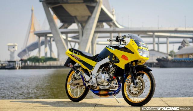Kawasaki Serpico 150 do dan chan khien nguoi xem tan chay con tim - 8