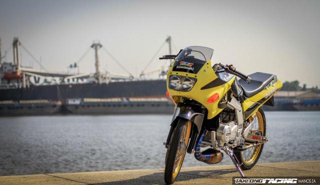 Kawasaki Serpico 150 do dan chan khien nguoi xem tan chay con tim - 9