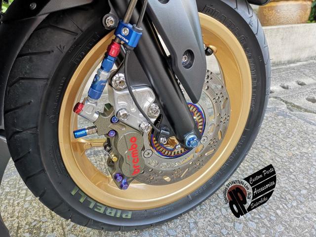 NVX 155 do khoi vu khi hang nang cua Biker nuoc ngoai - 6