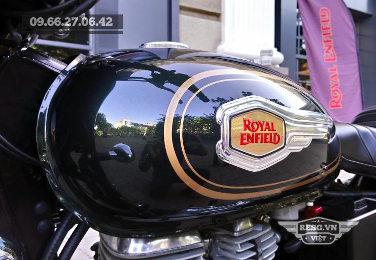 Royal Enfield Bullet 500 Xanh Forest Green LH 0966 270 642 Nguyen Minh Viet - 8