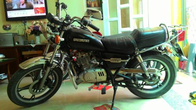 Suzuki GN125 zin