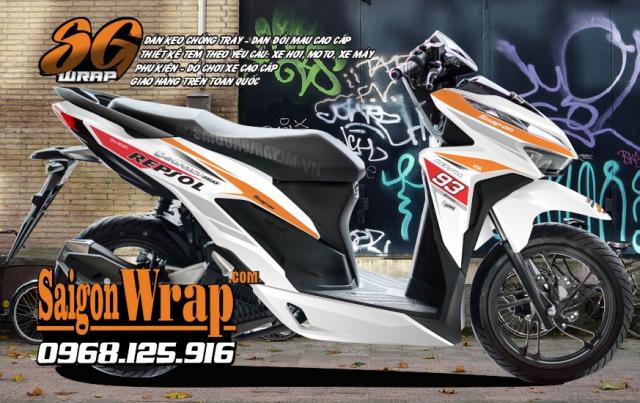 Tem Che Vario Click 2018 Dep Doc SaiGonWRAP Design Thi Cong Tem Xe Chuyen Nghiep - 4