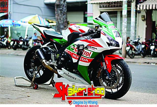 Tem Trum CBR 1000 SK Biker Shop - 6